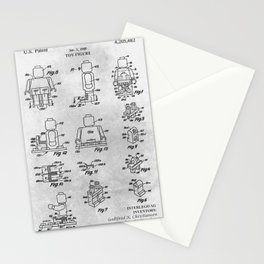 Toy figure Stationery Cards