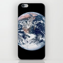 Apollo 17 - Iconic Blue Marble Photograph iPhone Skin