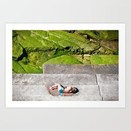 Bondi Sleeper Art Print