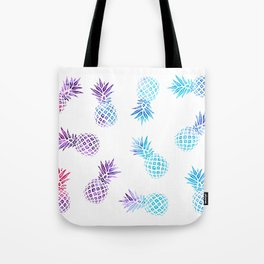 Pineapple Paradise Pattern Tote Bag