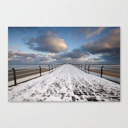 Saltburn by the Sea Canvas Print