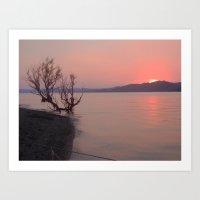 Dalehollow Sunset Art Print