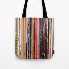 Indie Rock Vinyl Records Tote Bag