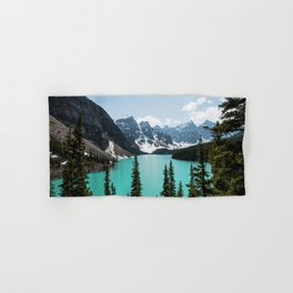Moraine Lake Landscape Photography Hand & Bath Towel
