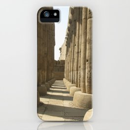 Temple of Luxor, no. 3 iPhone Case