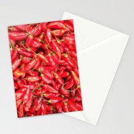 UN ROJO AJÍ EN PALOQUEMAO - RED HAXÍ IN PALOQUEMAO Stationery Cards