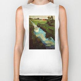 Landscape - Paula Modersohn-Becker Biker Tank
