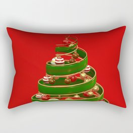 Twistmas Tree Rectangular Pillow