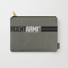 URGENTARMI (V02)... there's less reason to fear and more reason to fight. Carry-All Pouch