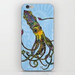 Electric Squid iPhone Skin