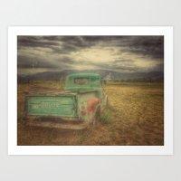 truck Art Prints featuring Truck by julipeko