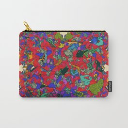 Earths Crowded Feelings Carry-All Pouch