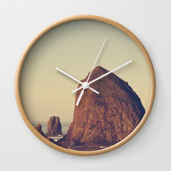 Oregon Ocean Wall Clock