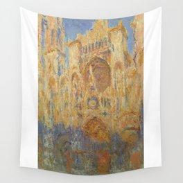 Monet, Rouen Cathedral, La Cathédrale de Rouen Wall Tapestry