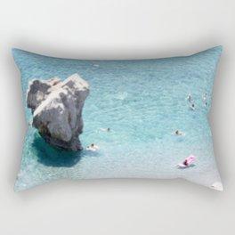 Mediterranean Rock Rectangular Pillow