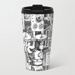 DINNER TIME FOR THE ROBOT Travel Mug