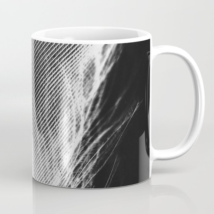 Feather Negative #2 Coffee Mug