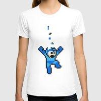 tetris T-shirts featuring Megaman Tetris by D-fens