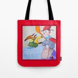 Cappuccetto Rosso -3 Tote Bag