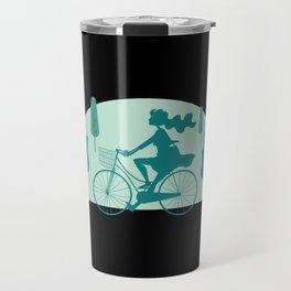 Cute Bicycle Gift I Funny Cycling Trekking Gift design Travel Mug