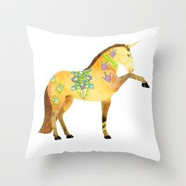 Unicorn Sintra Throw Pillow