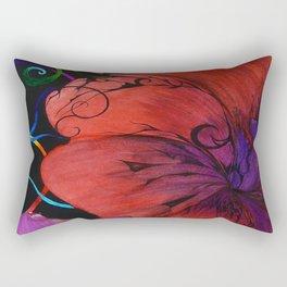 Heart Strings Rectangular Pillow