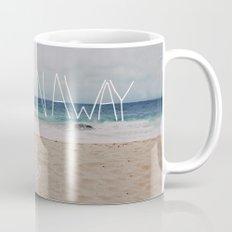 Let's Run Away | Sandy Beach, Hawaii Mug