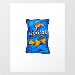Cool Ranch Doritos Art Print