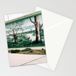 Goldrush in Foster, Victoria, Australia Stationery Cards