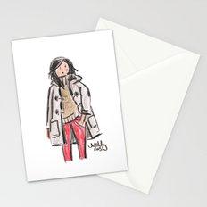 Duffle Coat Stationery Cards