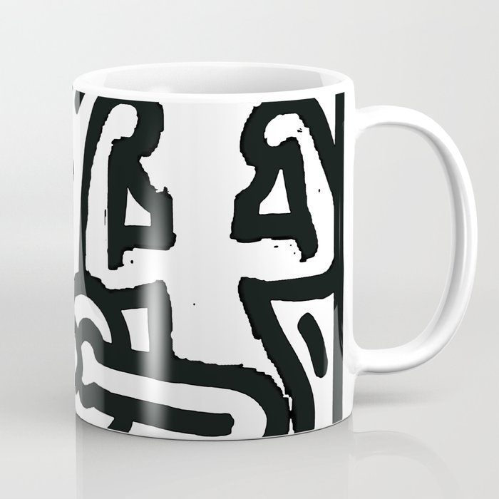 the three monkeys Coffee Mug
