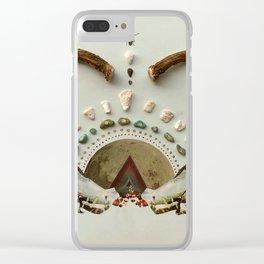 Rainbow Warrior Clear iPhone Case