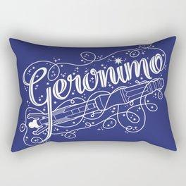 Geronimo! Rectangular Pillow