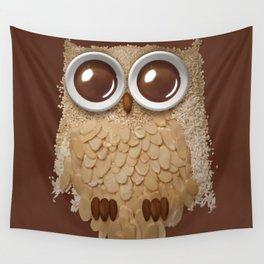 Owlmond 2 Wall Tapestry