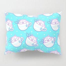 Owl Tea Pillow Sham
