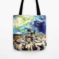 equality Tote Bags featuring Equality by Kiki collagist