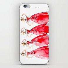 Rouge on the Runway Fashion Illustration iPhone & iPod Skin