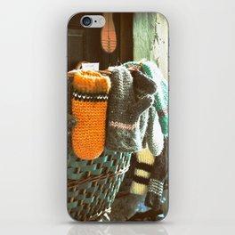 Woolen Mittens iPhone Skin