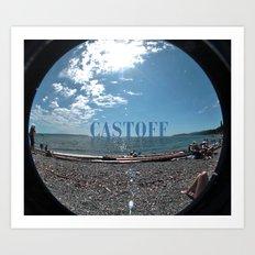 Castoff Art Print