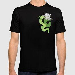 Pocket attack cyborg ninja T-shirt