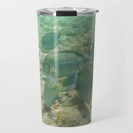 Blue Fish Travel Mug