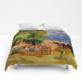 Ghost Ranch Landscape Comforters