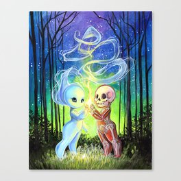 Body and Soul: The Bond Canvas Print