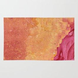Orange hues Rug