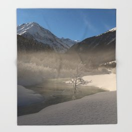 The Magic Of Winter Throw Blanket