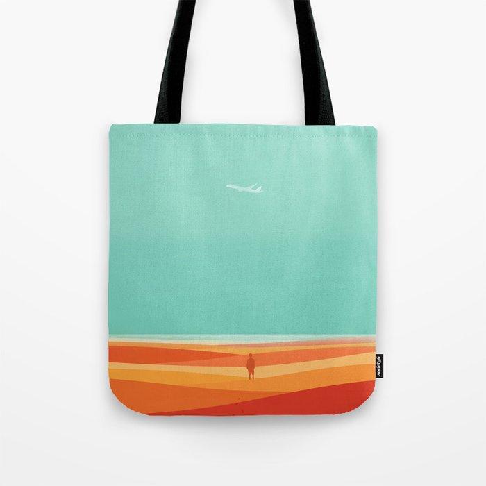 Where the sea meets the sky Tote Bag