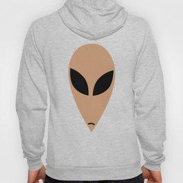 Alien head in cartoon stlye Hoody