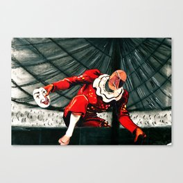 IGRZYSKO or the Chaos Fool in  his Art Pit Canvas Print