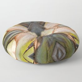 Palm Tree Abstract 2 Floor Pillow