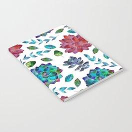 Vibrant Floral Garden Notebook